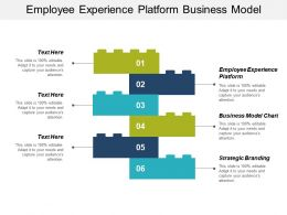 Employee Experience Platform Business Model Chart Strategic Branding Cpb