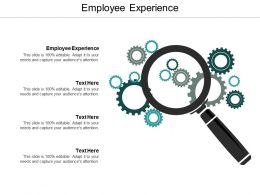 Employee Experience Ppt Powerpoint Presentation Ideas Clipart Cpb