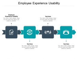 Employee Experience Usability Ppt Powerpoint Presentation Infographic Template Graphics Cpb