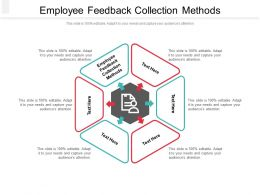 Employee Feedback Collection Methods Ppt Powerpoint Presentation Styles Gallery Cpb