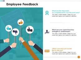 Employee Feedback Other Concerns You Would Like To Discuss