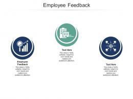 Employee Feedback Ppt Powerpoint Presentation Inspiration Background Cpb