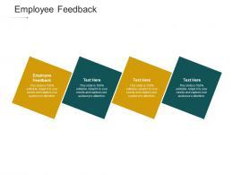 Employee Feedback Ppt Powerpoint Presentation Slides Graphics Tutorials Cpb