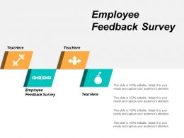 Employee Feedback Survey Ppt Powerpoint Presentation Slides Demonstration Cpb