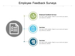 Employee Feedback Surveys Ppt Powerpoint Presentation Gallery Graphics Pictures Cpb