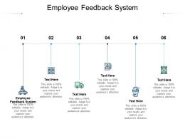 Employee Feedback System Ppt Powerpoint Presentation Icon Graphics Download Cpb