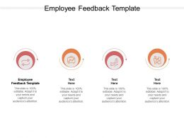Employee Feedback Template Ppt Powerpoint Presentation Infographics Microsoft Cpb