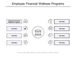 Employee Financial Wellness Programs Ppt Powerpoint Presentation Model Diagrams Cpb