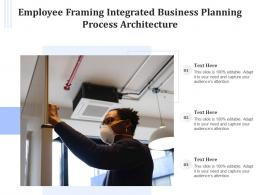 Employee Framing Integrated Business Planning Process Architecture