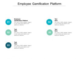 Employee Gamification Platform Ppt Powerpoint Presentation Infographics Examples Cpb