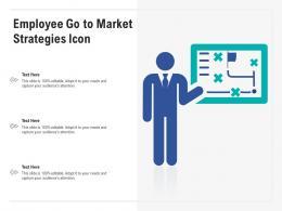 Employee Go To Market Strategies Icon
