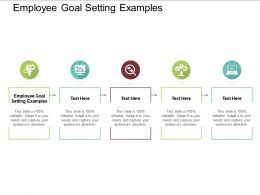 Employee Goal Setting Examples Ppt Powerpoint Presentation Portfolio Vector Cpb