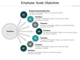 Employee Goals Objectives Ppt Powerpoint Presentation File Graphic Images Cpb