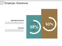 Employee Grievances Ppt Powerpoint Presentation Model Portfolio Cpb