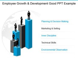 Employee Growth And Development Good Ppt Example
