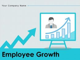 Employee Growth Approaches Business Arrow Performance Enterprise Strategies Increase