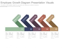 Employee Growth Diagram Presentation Visuals