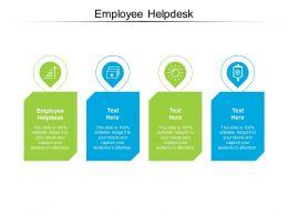 Employee Helpdesk Ppt Powerpoint Presentation Styles Gallery Cpb