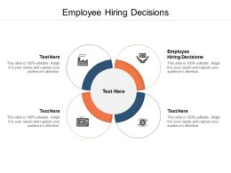 Employee Hiring Decisions Ppt Powerpoint Presentation Model Graphics Cpb