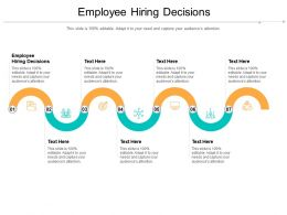 Employee Hiring Decisions Ppt Powerpoint Presentation Styles Sample Cpb