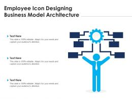 Employee Icon Designing Business Model Architecture