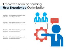 Employee Icon Performing User Experience Optimization