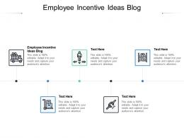 Employee Incentive Ideas Blog Ppt Powerpoint Presentation Infographic Template File Formats Cpb