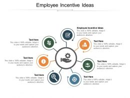 Employee Incentive Ideas Ppt Powerpoint Presentation Inspiration Templates Cpb