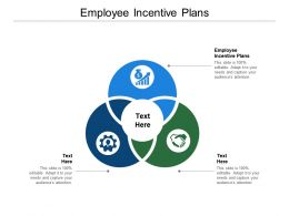 Employee Incentive Plans Ppt Powerpoint Presentation Infographics Objects Cpb