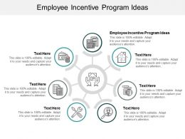 Employee Incentive Program Ideas Ppt Powerpoint Presentation Outline Deck Cpb