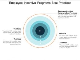 Employee Incentive Programs Best Practices Ppt Powerpoint Presentation Ideas File Formats Cpb
