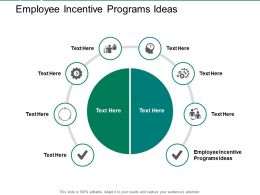 Employee Incentive Programs Ideas Ppt Powerpoint Presentation Pictures Information Cpb