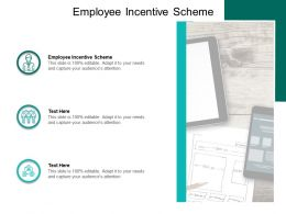 Employee Incentive Scheme Ppt Powerpoint Presentation Layouts Skills Cpb