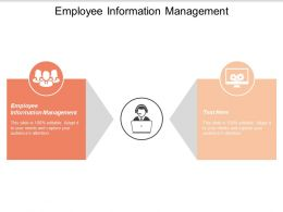 Employee Information Management Ppt Powerpoint Presentation Styles Ideas Cpb