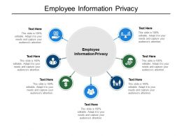 Employee Information Privacy Ppt Powerpoint Presentation Layouts Structure Cpb