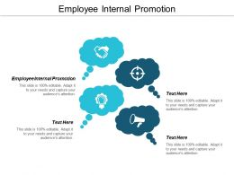 Employee Internal Promotion Ppt Powerpoint Presentation Styles File Formats Cpb