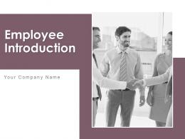 Employee Introduction Powerpoint Presentation Slides