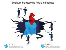 Employee Introspecting Pitfalls In Business
