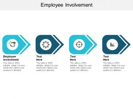 Employee Involvement Ppt Powerpoint Presentation Professional Layouts Cpb