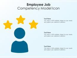 Employee Job Competency Model Icon