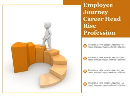Employee Journey Career Head Rise Profession