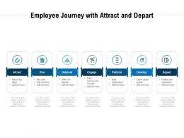 Employee Journey With Attract And Depart