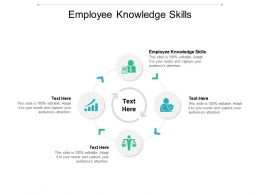 Employee Knowledge Skills Ppt Powerpoint Presentation Infographic Template Gallery Cpb