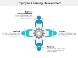 Employee Learning Development Ppt Powerpoint Presentation Infographic Slideshow Cpb