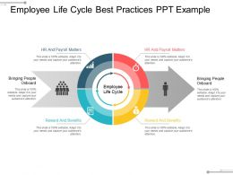 Employee Life Cycle Best Practices Ppt Example
