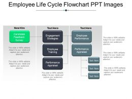 Employee Life Cycle Flowchart Ppt Images