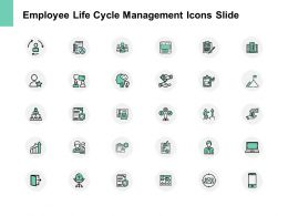 Employee Life Cycle Management Icons Slide Technology Ppt Powerpoint Slides