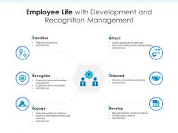 Employee Life With Development And Recognition Management