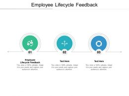 Employee Lifecycle Feedback Ppt Powerpoint Presentation Infographics Introduction Cpb