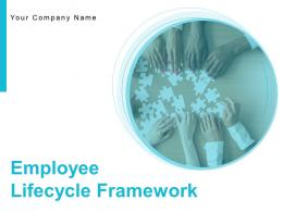 Employee Lifecycle Framework Powerpoint Presentation Slides